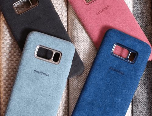 Samsung Alcantara Case